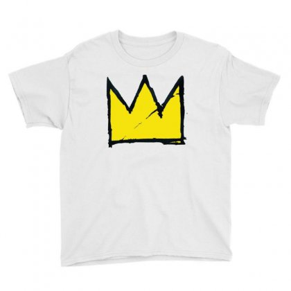 Basquiat Crown Youth Tee Designed By Benny