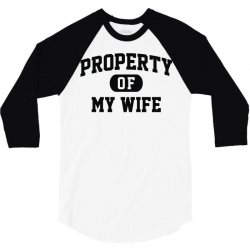 10a3e6f7 Custom Property Of My Wife All Over Men's T-shirt By Mir Art ...