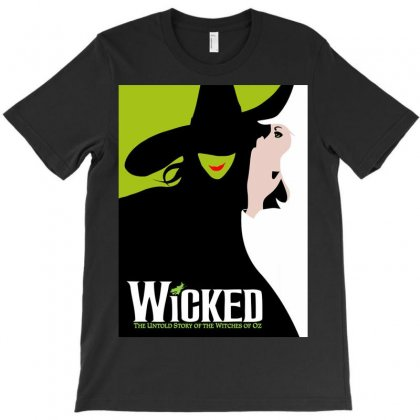 Wicked Musical T-shirt Designed By Tabby