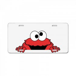 elmo3c License Plate | Artistshot