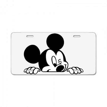 Mickey License Plate