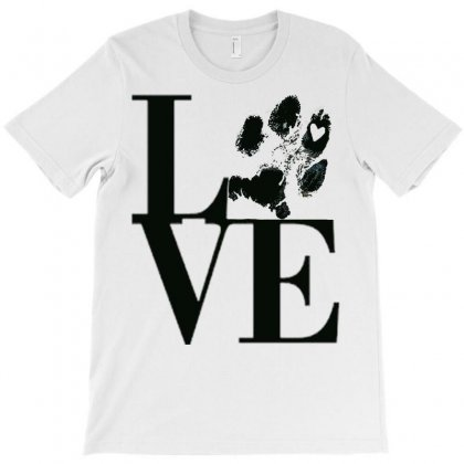 Love My Dog T-shirt Designed By Cordmarcos