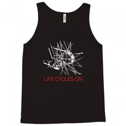 Cycling Rider Gift Bike Tee Life Tank Top Designed By Aheupote