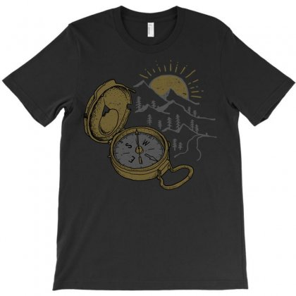 Compass T-shirt Designed By Quilimo