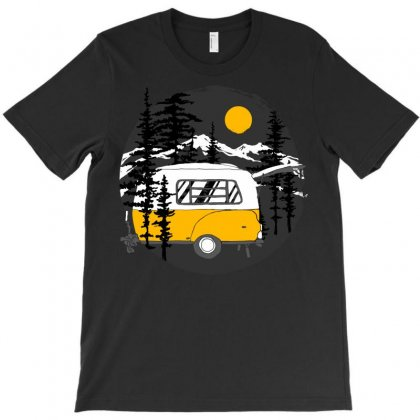Camper Van T-shirt Designed By Quilimo