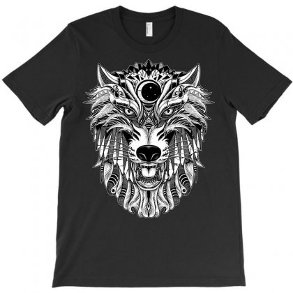Wolf T-shirt Designed By Quilimo
