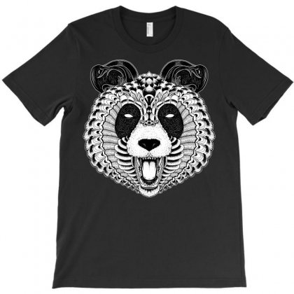 Panda T-shirt Designed By Quilimo