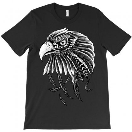 Eagle Ornate T-shirt Designed By Quilimo