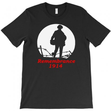 1914 Remembrance T-shirt Designed By Aheupote