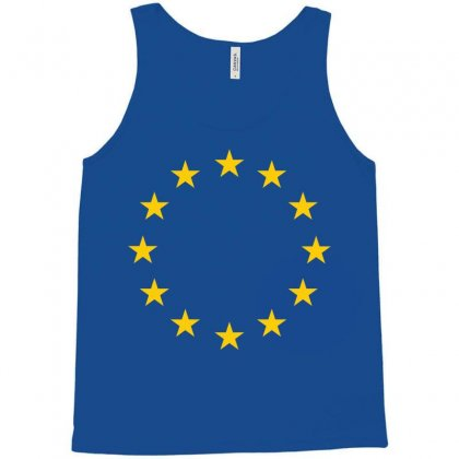 Eu Stars Europe, European Union Flag, Symbol, Sign Tank Top Designed By Sabriacar