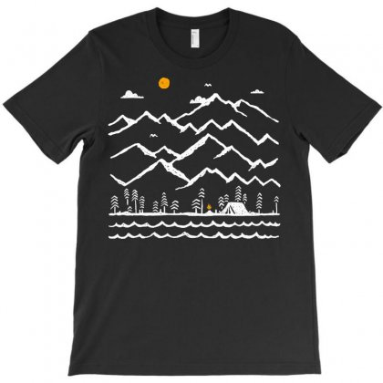 Camp Fire T-shirt Designed By Quilimo