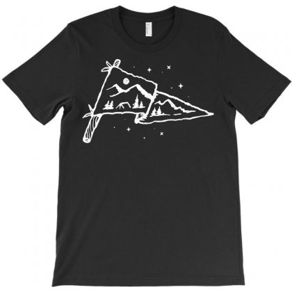 Camp Flag T-shirt Designed By Quilimo