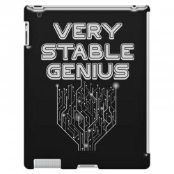 Very Stable Genius iPad 3 and 4 Case | Artistshot