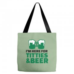 st. patrick's day titties and beer Tote Bags | Artistshot