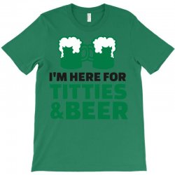 st. patrick's day titties and beer T-Shirt | Artistshot