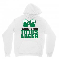 st. patrick's day titties and beer Unisex Hoodie | Artistshot