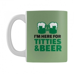 st. patrick's day titties and beer Mug | Artistshot