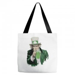 st patricks day  uncle sam Tote Bags | Artistshot