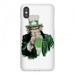 st patricks day  uncle sam iPhoneX | Artistshot