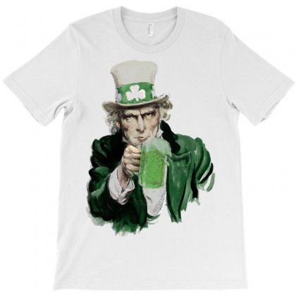 St Patricks Day  Uncle Sam T-shirt Designed By Sbm052017
