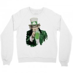 st patricks day  uncle sam Crewneck Sweatshirt | Artistshot