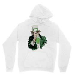 st patricks day  uncle sam Unisex Hoodie | Artistshot