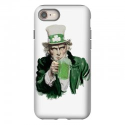st patricks day  uncle sam iPhone 8 | Artistshot