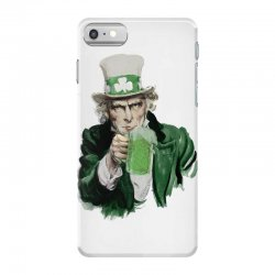 st patricks day  uncle sam iPhone 7 Case | Artistshot