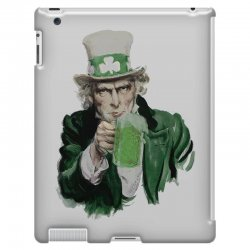 st patricks day  uncle sam iPad 3 and 4 Case | Artistshot