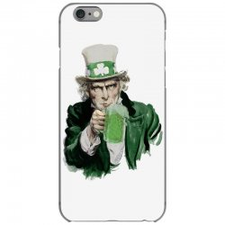 st patricks day  uncle sam iPhone 6/6s Case | Artistshot