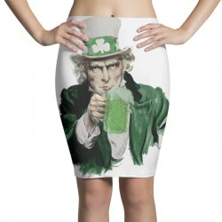 st patricks day  uncle sam Pencil Skirts | Artistshot