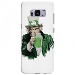 st patricks day  uncle sam Samsung Galaxy S8 Plus | Artistshot