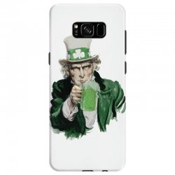 st patricks day  uncle sam Samsung Galaxy S8 | Artistshot