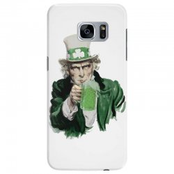st patricks day  uncle sam Samsung Galaxy S7 Edge | Artistshot