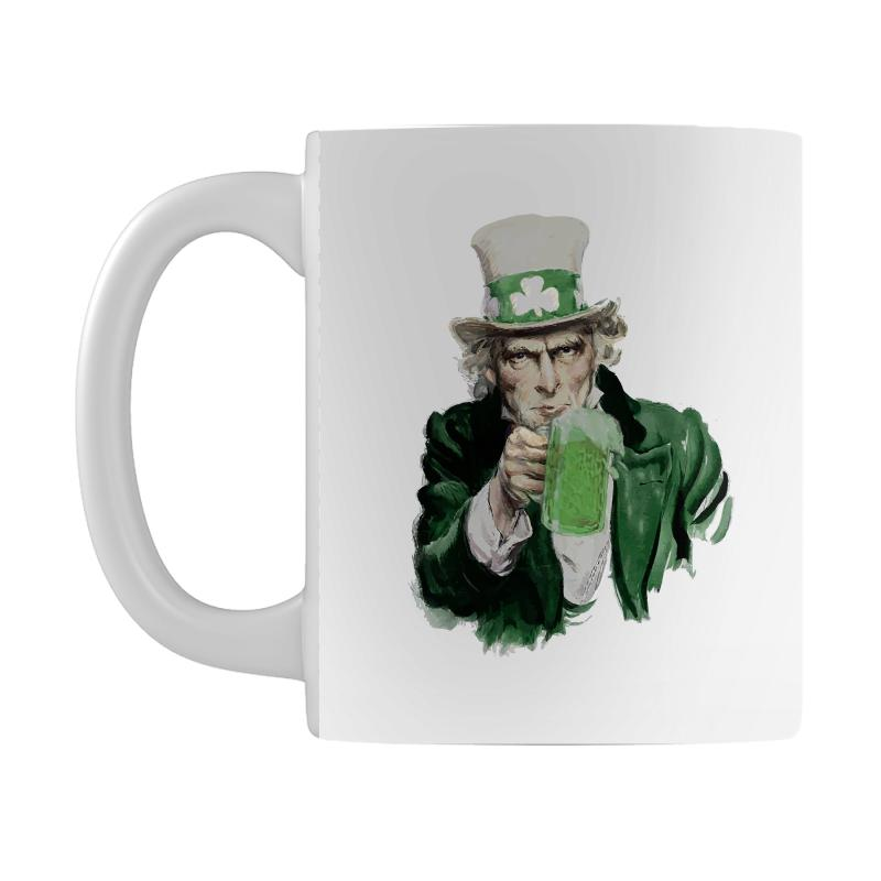 St Patricks Day  Uncle Sam Mug | Artistshot