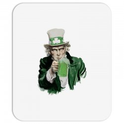 st patricks day  uncle sam Mousepad | Artistshot