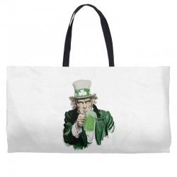 st patricks day  uncle sam Weekender Totes | Artistshot