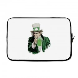st patricks day  uncle sam Laptop sleeve | Artistshot