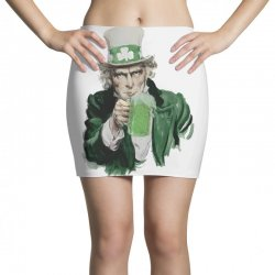 st patricks day  uncle sam Mini Skirts | Artistshot