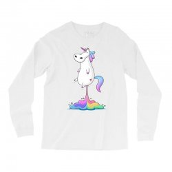 unicorn fart Long Sleeve Shirts | Artistshot