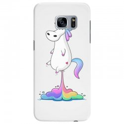 unicorn fart Samsung Galaxy S7 Edge | Artistshot
