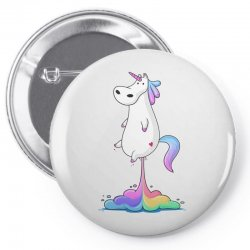 unicorn fart Pin-back button | Artistshot