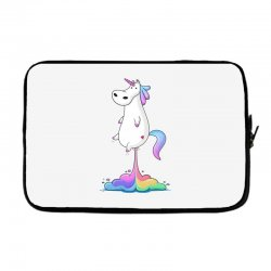 unicorn fart Laptop sleeve | Artistshot