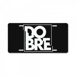 dobre License Plate | Artistshot