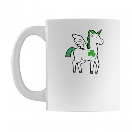 Irish Unicorn Mug Designed By Killakam