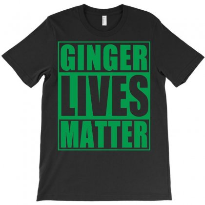 St Patrick's Day Ginger Lives Matter T-shirt Designed By Sbm052017