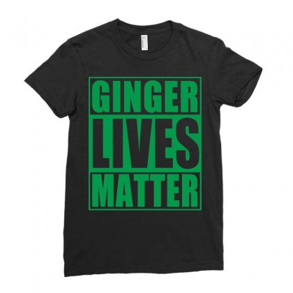 St Patrick's Day Ginger Lives Matter Ladies Fitted T-shirt Designed By Sbm052017