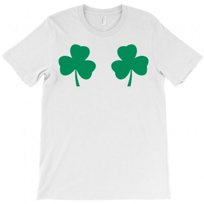 Shamrock Boobs T-shirt Designed By Tshiart