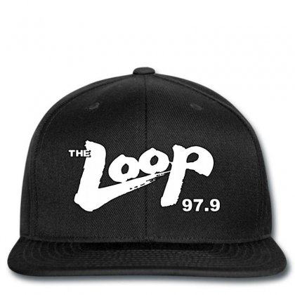 The Loop Where Chicago Rocks Fm 97.9 Snapback Designed By Killakam