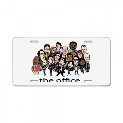 The Office License Plate
